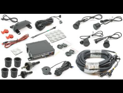 BackZone™ parkeersensoren - 4 sensoren + geluid + LED