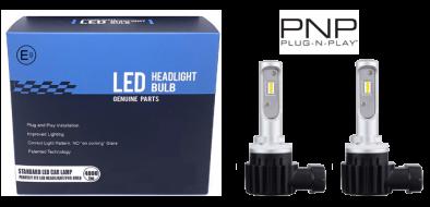 LED dimlicht - 6000K - H9 met E-keur