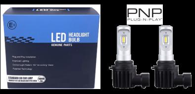 LED dimlicht - 6000K - H11 met E-keur