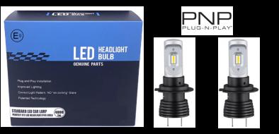 LED dimlicht - 6000K - H7 met E-keur