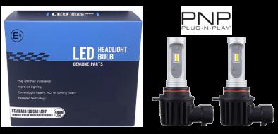 LED dimlicht - 6000K - HIR2/9012 met E-keur