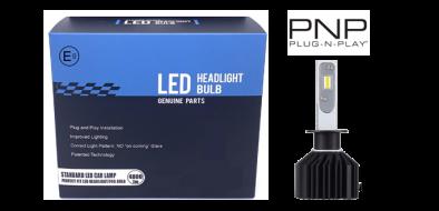 LED dimlicht - 6000K - H1 met E-keur