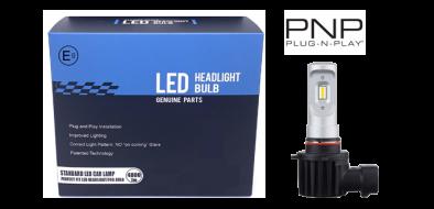 LED dimlicht - 6000K - H10 met E-keur