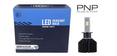 LED dimlicht - 6000K - H3 met E-keur